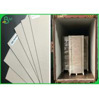 1mm Mix Pulp FSC Certificate Waste Paper Sheets Grey Chipboard For Parking Box Manufactures