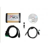 China CD Drive 8 - 12V DC Car Diagnostics Scanner With CPU 300MHz VCS Vehicle Communication on sale