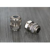 Small Nickle Plated Brass Waterproof Cable Gland With Silicone Seals Manufactures