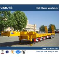 heavy duty tri-axle gooseneck flatbed trailer for sale Manufactures
