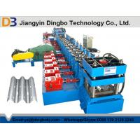 China Heavy Duty Highway Guardrail Roll Forming Machine with Gearbox Transmission on sale