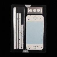 Colorful Screen Protector with Button Sticker, Ideal for iPhone 4/4S Manufactures