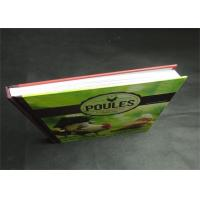 Eco-friendly Greyboard Hardcover Book Printing Services Embossing 1800gsm Manufactures