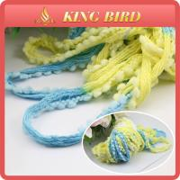 Fishnet Ring Spun Fancy Knitting Yarns With Ball For Knitting Scarf Manufactures
