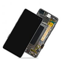HD Super AMOLED Samsung Phone LCD Screen For Galaxy S10 Or 10 Plus / Mobile Phone  Spare Parts Manufactures