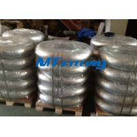 ASTM A182 F51 / S31803 Flanges Pipe Fittings , Duplex Steel Pipe Fitting 180 Degree Elbow Manufactures