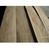 China Sliced Cut Natural Red Oak Wood Veneer Sheet on sale