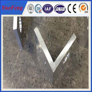 Quality aluminium profile corner joint / aluminum corner profile / aluminium rectangular for sale
