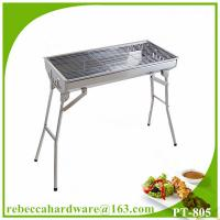 China Stainless steel BBQ grill wire mesh net professional stainless steel charcoal grill on sale