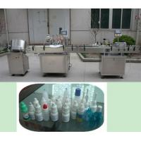 Eye Drop Liquid Filling Machine With Plugging,Dropper,Capping Manufactures