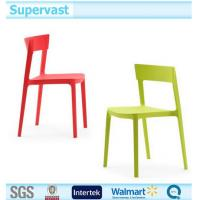 PP / Steel Stackable Plastic Chair Garden Outdoor Furniture for Dinning Picnic