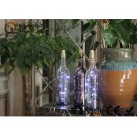 battery operated glass wine bottle with led lights party decor gift or night light Manufactures