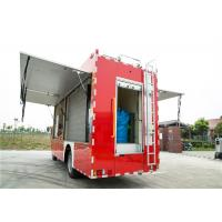 Quality Gross Weight 7880kg Industrial Fire Truck , Measuring Meter Heavy Rescue Fire Truck for sale