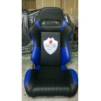 High Performance Black Racing Seats , Fabric PVC Racing Seat JBR1042 Serise Manufactures