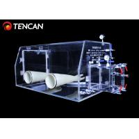 15mm Thickness Acrylic Glove Box Highly Transparent CE / ISO Standard Manufactures