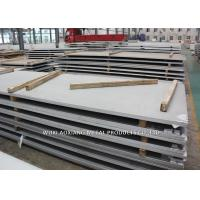 DIN 1.4401 Hot Rolled Steel Sheet / Stainless Steel Plate Thickness 5MM - 7MM Manufactures