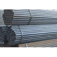 China Round ERW BS1387 Black Steel Pipe , ASTM / BS Steel Pipe on sale