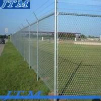[China factory]high security barbed wire chain link fence (professional factory) Manufactures