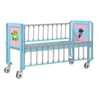 Children Patient Bed , Pediatric Bed With Enameled Steel Side Rails Manufactures