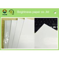 Standard Size Gloss Art Paper 80g , Wood Free Coated Art Paper For Books Production Manufactures