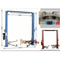 Gate Style Hydraulic Car Lift Automotive Scissor Lift Manual Release 4.0T Capacity Manufactures