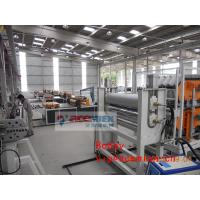 Multi Layer Plastic Roofing Sheet Machine / Plastic Tile Extrusion Line Manufactures