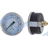 2.5 Back  black steel dry pressure gauge with steel chrome  U clamp Manufactures