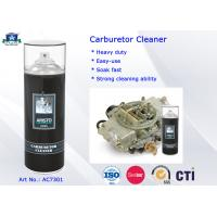 400ML Carburetor Cleaner Spray / Aerosol Carb and Choke Cleaner Car Cleaning Product Manufactures