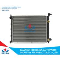 Silver Ford Aluminum Radiator , 2002 Ford Escort Cooling System Brazing Auto Car Spare Parts Manufactures