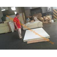 China Cold Storage Room Panels Hinge Door Camlock PU Panels 200mm For Frozen Food on sale