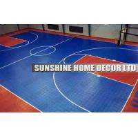 Interlocking Drainage Floor Tiles , Removable Exercise Room Flooring Manufactures
