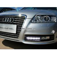 China Bright White LED DRL Daytime Fog Light Run signal lamp For Audi A6 A6L on sale