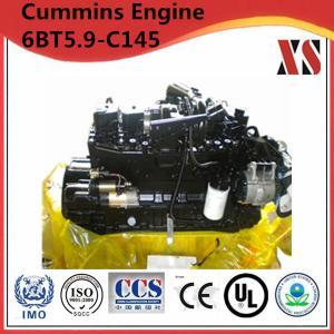 China Cummins construction diesel engine 6BT5.9-C145 on sale