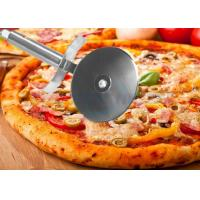Cake And Pizza Cheese Wheel Pizza Knife Cutter / Stainless Steel Kitchen Tools Manufactures