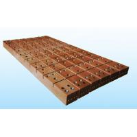 China Copper mould plate for high speed and high efficiency Rectangular and plate CCM on sale