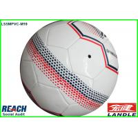 Machine Stitched 32 Panel Football Personalized Soccer Ball With Name Manufactures