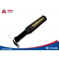 Dependable Hand Held Metal Detector Super - High Accuracy 410mm * 85mm Manufactures