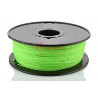 Hot Sale 1.75MM PLA Green 3D Printer Materials Filament For UP / Solidoodle Manufactures