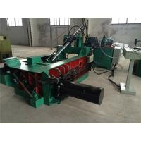 Pushing - Out Discharging PLC Control Scrap Baling Machine Hydraulic Drive Manufactures