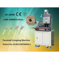 Wire Terminal Crimping Machine , Automatic Terminal Crimping Tool Manufactures