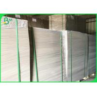 Quality 2.0mm 2.2mm 2.3mm Grey Cardboard Sheets , Grey Chipboard Paper For Ring Binders for sale
