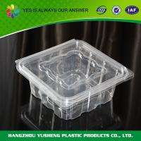 Quality Disposable Promotional Compartment Food Clamshell Packaging Approved FDA for sale