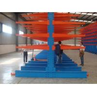 1000kg Loading  Heavy Duty Storage Racks / Cantilever Plywood Racks For Building Material Manufactures
