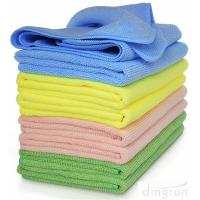 High Absorbent Microfiber Cleaning Cloths Towel For Kitchen Car Windows Manufactures