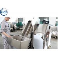 Root Cutting Onion Processing Equipment High Efficiency With Longer Service Life Manufactures