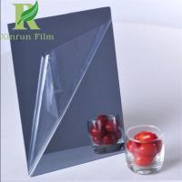 China 0.03-0.15mm Transparent Adhesive Acrylic Mirror Sheet Protective Film on sale