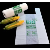 Biodegradable & Compostable T-shirt bags in roll Manufactures