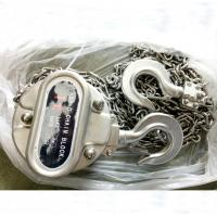304 stainless steel manual chain hoist,stainless steel chain block 1ton 2ton 3Ton Manufactures