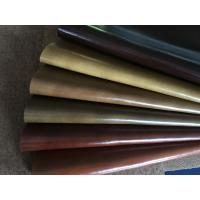 Pu Coating composition leather material for bus , lading , furniture , bags Manufactures