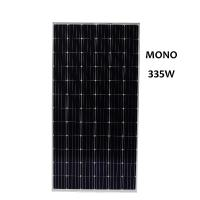 Low Price 335W Mono Solar Panel Applied in Industrial and Commercial Rooftops Village Solar Plants Three Phase grid conn Manufactures